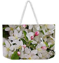 Crabapple Blossoms 5 Weekender Tote Bag