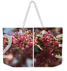 Crabapple In Spring Panoramic Map Weekender Tote Bag