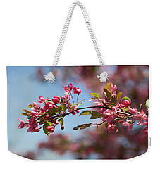 Crabapple In Spring Section 1 Of 4 Weekender Tote Bag