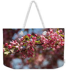 Crabapple In Spring Section 2 Of 4 Weekender Tote Bag