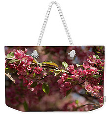 Crabapple In Spring Section 3 Of 4 Weekender Tote Bag