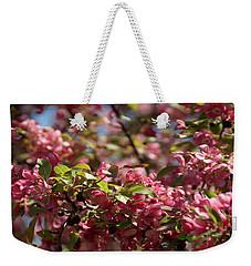 Crabapple In Spring Section 4 Of 4 Weekender Tote Bag