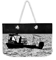 Crabbing On The Pamlico Weekender Tote Bag
