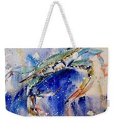 Crabby Weekender Tote Bag