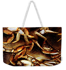 Crabs Awaiting Their Fate Weekender Tote Bag