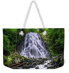 Crabtree Falls North Carolina Weekender Tote Bag