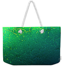 Cracks Under Microscope Weekender Tote Bag