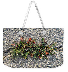 Crack Corsage Weekender Tote Bag by Stan  Magnan