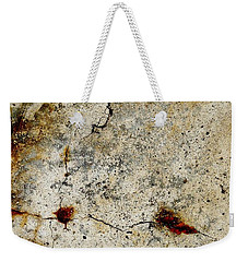 Cracked Concrete And Rust Abstract 1 Weekender Tote Bag