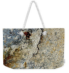 Cracked Concrete And Rust Abstract 2 Weekender Tote Bag