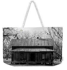 Cracker Cabin Weekender Tote Bag by David Lee Thompson