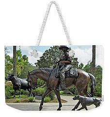 Cracker Cowboy And His Dog Weekender Tote Bag