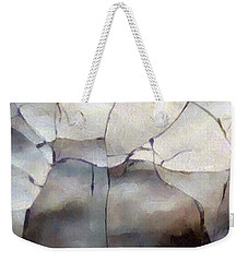 Crackle Weekender Tote Bag