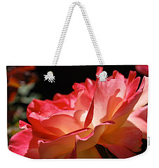 Cracklin' Rose Weekender Tote Bag