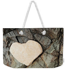 Cradle My Heart Weekender Tote Bag