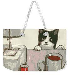 Crafty Cat #2 Weekender Tote Bag