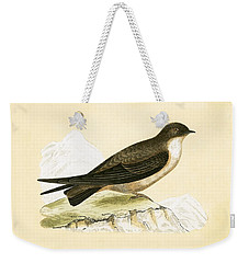 Crag Swallow Weekender Tote Bag by English School