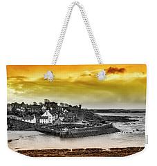 Crail Harbour Weekender Tote Bag