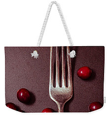 Cranberries And Fork Weekender Tote Bag