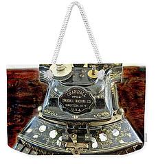 Crandall Type Writer 1893 Weekender Tote Bag