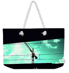 Crane And Shadows Weekender Tote Bag