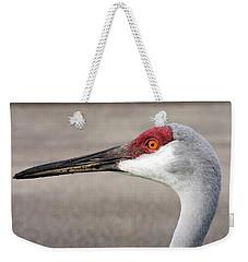 Crane Closeup Weekender Tote Bag