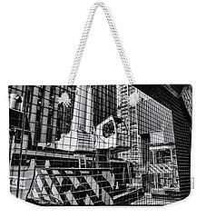 Crane In Manhattan Weekender Tote Bag