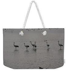 Cranes Weekender Tote Bag