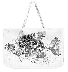 Crappie Abstract Weekender Tote Bag