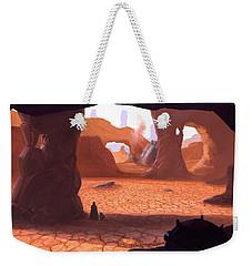 Crash Weekender Tote Bag