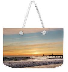 Crashing Waves At Aberdeen Beach Weekender Tote Bag