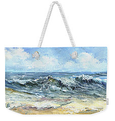 Crashing Waves In Florida  Weekender Tote Bag