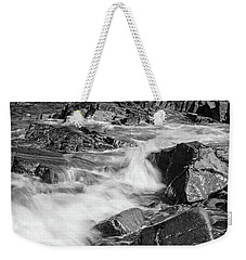 Crashing Waves, Portland Head Light, Cape Elizabeth, Maine  -5605 Weekender Tote Bag