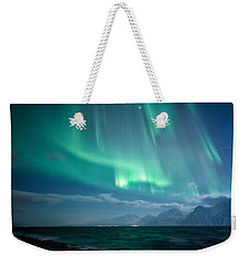 Crashing Waves Weekender Tote Bag