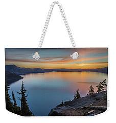 Crater Lake Morning No. 1 Weekender Tote Bag