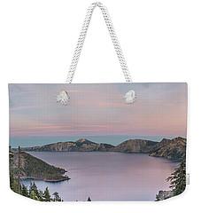Crater Lake Sunset Weekender Tote Bag
