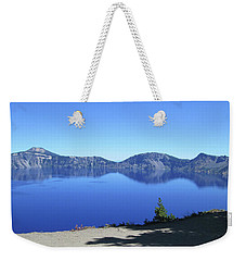Crater Lake Weekender Tote Bag by Tony Mathews