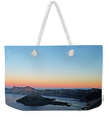 Crater Lake Twilight Weekender Tote Bag