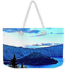 Weekender Tote Bag featuring the photograph Crater Within by Nancy Marie Ricketts