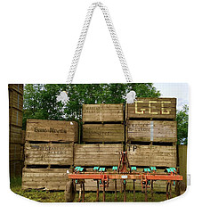 Crates To Go Weekender Tote Bag