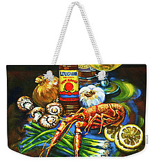 Crawfish Fixin's Weekender Tote Bag