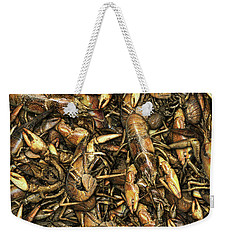 Crayfish Weekender Tote Bag by James Larkin