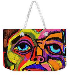 Crayon Bob Weekender Tote Bag