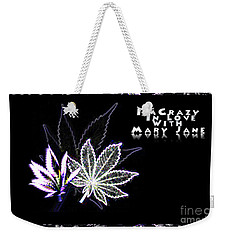 Crazy About Mary Jane Weekender Tote Bag