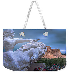 Crazy Horse Memorial Weekender Tote Bag by Mark Dunton
