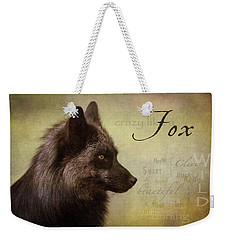 Crazy Like A Fox Weekender Tote Bag