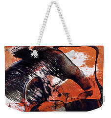 Crazy Mouse - Modern Abstract Art Painting Weekender Tote Bag