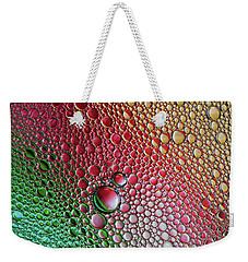 Crazy World Of Bubbles Weekender Tote Bag by Jaroslaw Blaminsky