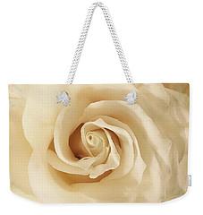 Creamy Rose Weekender Tote Bag