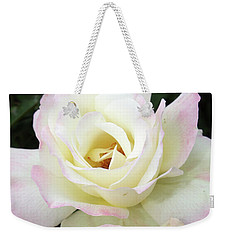 Creamy Roses Weekender Tote Bag by Ellen Tully